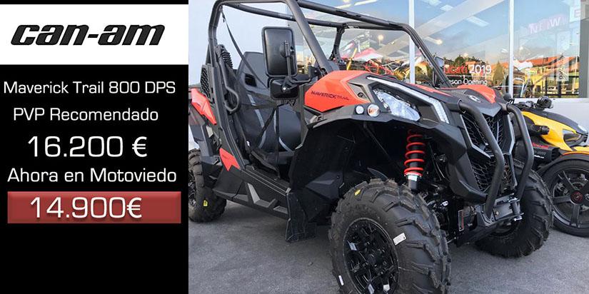 Can-am Maverick Trail 800 DPS oferta